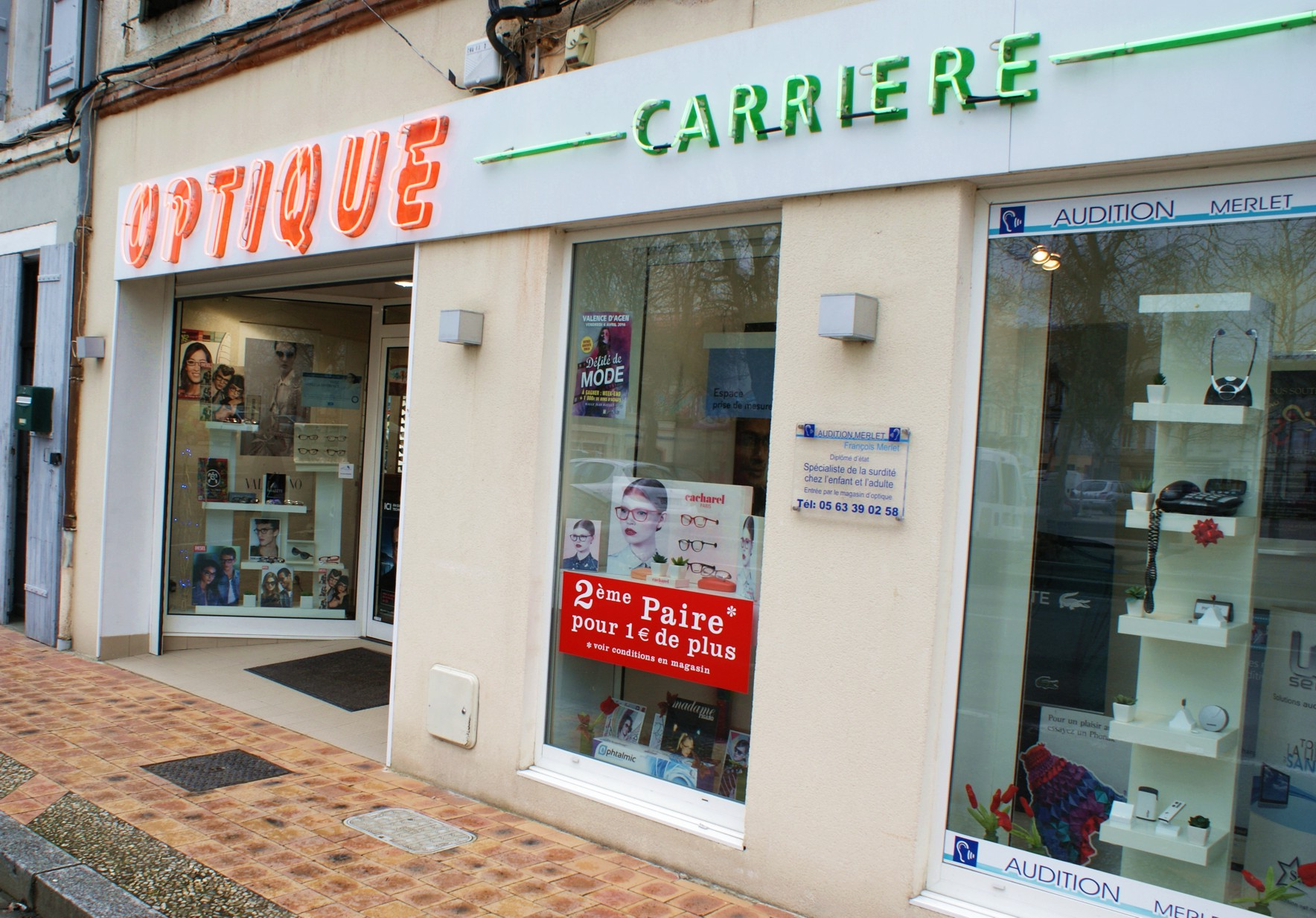 OPTIQUE CARRIERE